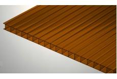 Цветной поликарбонат 4 мм, коричневый