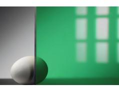 Цветной поликарбонат 4 мм, зеленый