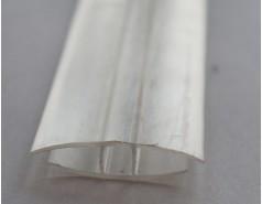 Профиль соединительный неразъемный прозрачный 4-6 мм, 6 м
