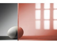 Цветной поликарбонат 4 мм, красный