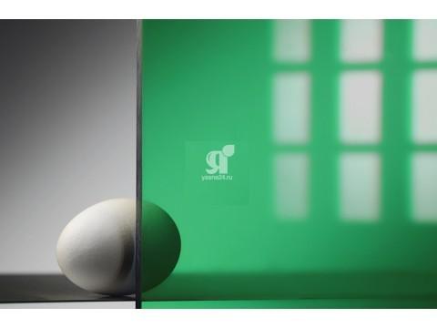Монолитный поликарбонат зелёный 1,5-12мм