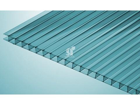 Цветной поликарбонат 10 мм, бирюзовый