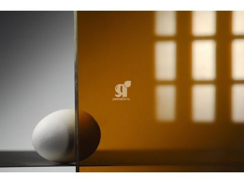 Цветной поликарбонат 4 мм, бронза