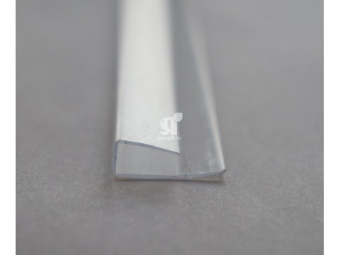 Профиль торцевой прозрачный 10 мм
