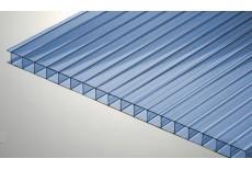 Цветной поликарбонат 4 мм, синий