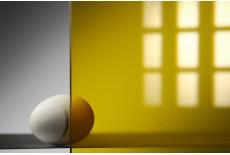 Монолитный поликарбонат жёлтый 1,5-15 мм
