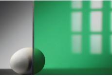 Цветной поликарбонат 8 мм, зеленый