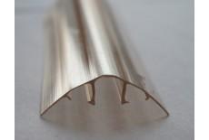 Профиль соединительный прозрачный 6-10 мм, крышка