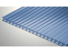 Цветной поликарбонат 6 мм, синий