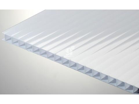 Цветной поликарбонат 10 мм, молочный