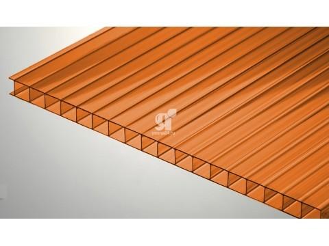 Цветной поликарбонат 4 мм оранжевый