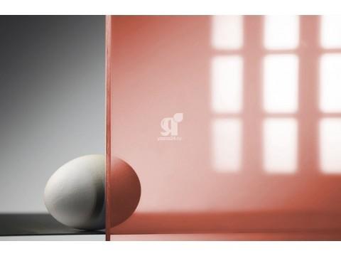 Цветной поликарбонат 10 мм, красный