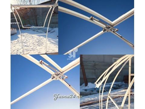 Система проветривания для теплицы «Ясна 3МЦ»